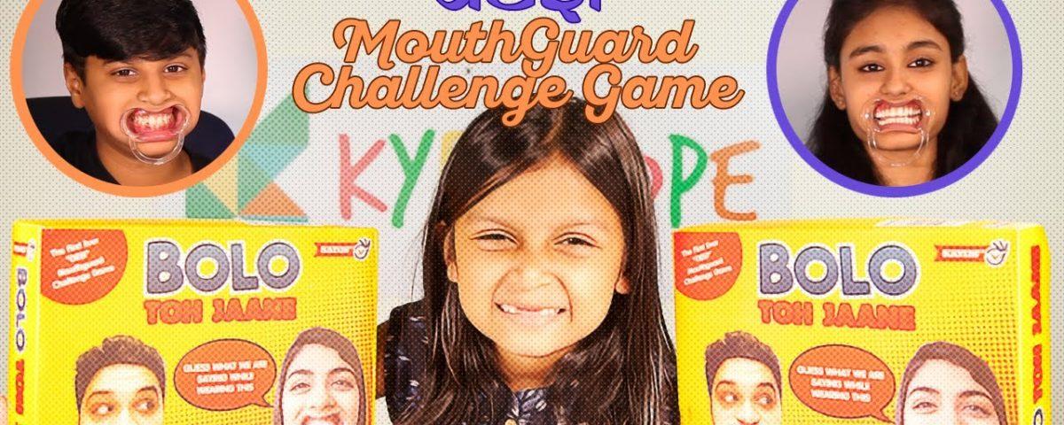Bolo Toh Jaane Challenge Game Desi Mouthguard Challenge Game