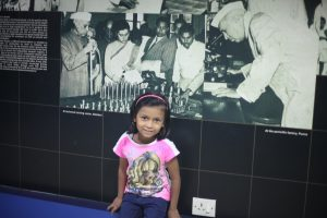 Kyra Visiting Nehru Planetarium
