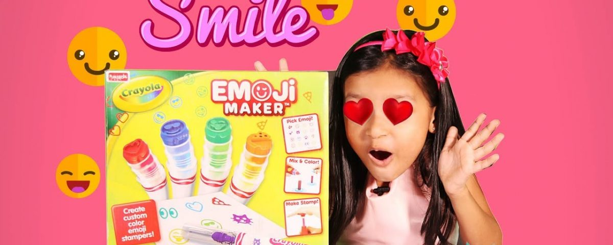 Crayola Emoji Maker Unboxing Demo and Review Kyrascope Toy Reviews