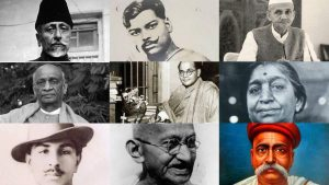 Indian Freedom Fighters Independence Day India