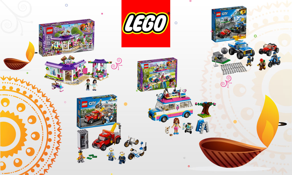 This Diwali and Bhaj Dooj, key start your celebrations with LEGO