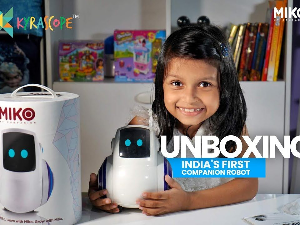 Miko India's First Companion Robot Diwali Special Unboxing Kyrascope Toy Reviews