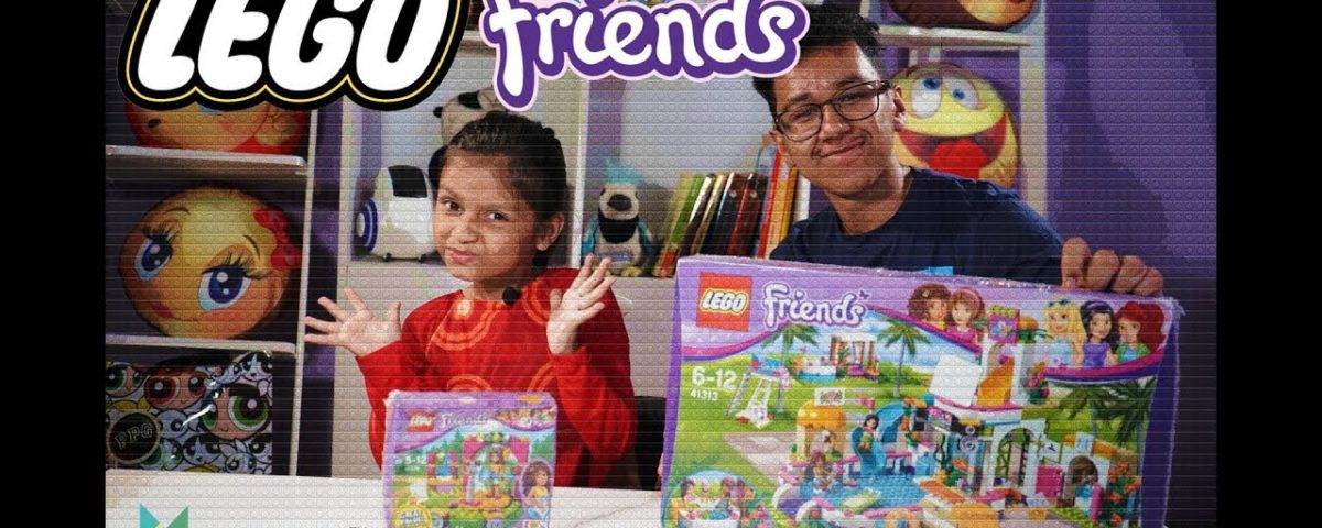Unboxing My First Lego Friends: Heartlake Summer Pool With My Brother