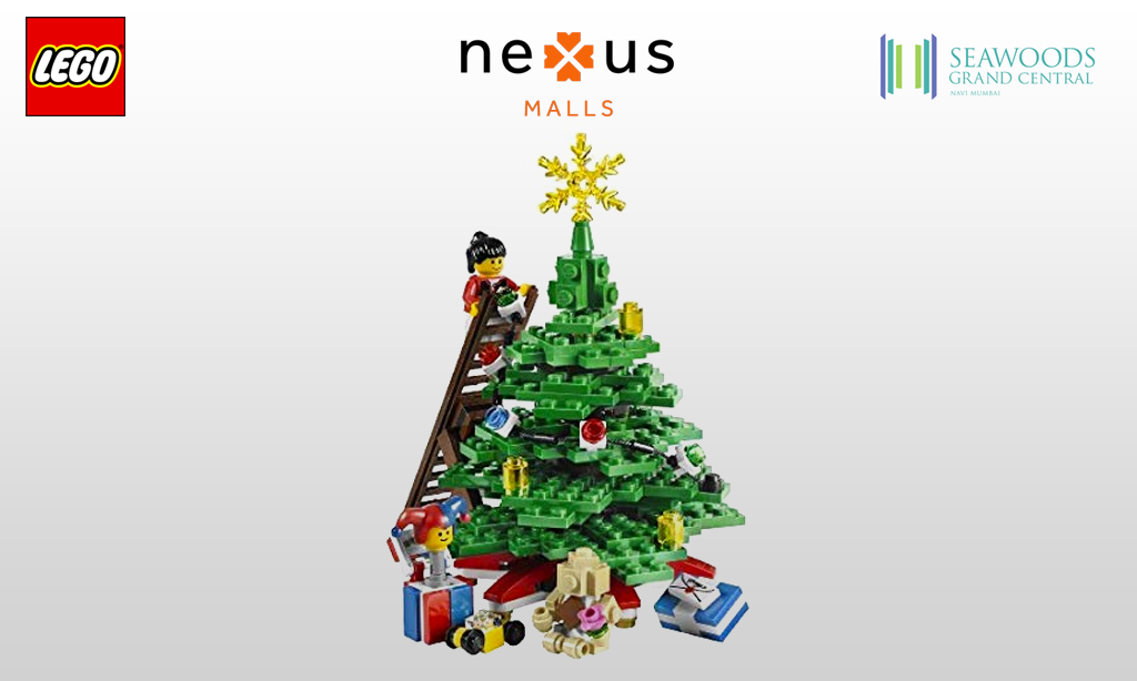 Come build the largest LEGO Christmas tree – only at Seawoods Grand Central Mall, Navi Mumbai