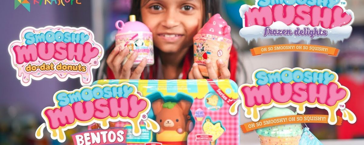 Smooshy Mushy Review and Unboxing Bentos and besties Series 2 and Series 3 Now in India