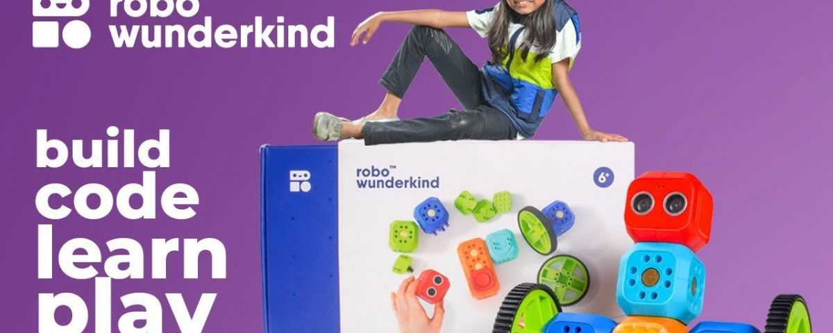 Robo Wunderkind : a programmable robot for kids of all ages STEM Toys
