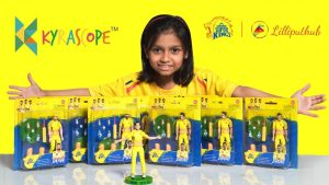 Chennai Super Kids Action Figures, Dhoni, Raina and Jadeja: LilliputHub Toy Reviews