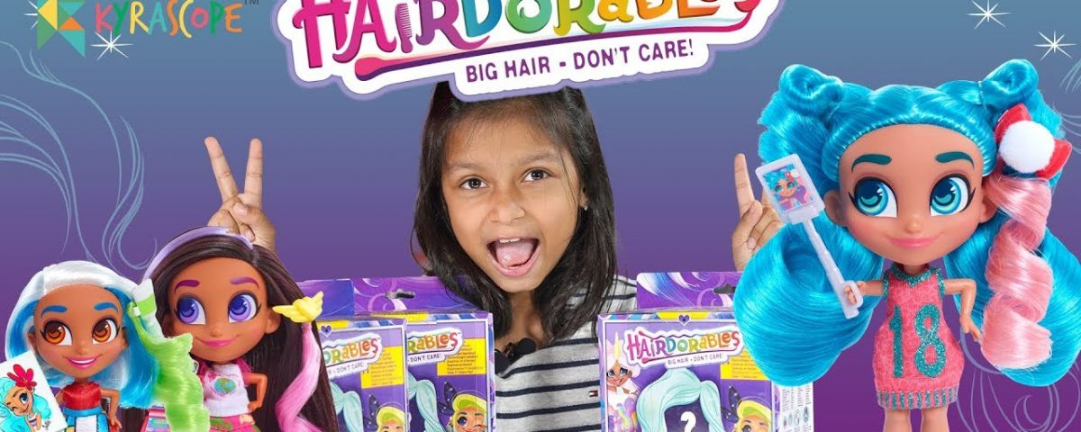 Kyrascope : Hairdorables india Unboxing Review Which HAIRDORABLES Girl Is Hidden Inside?