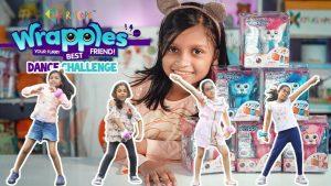 Kyrascope Kids Dance Challenge with Wrapples the Interactive Friends #WrapplesDanceChallenge