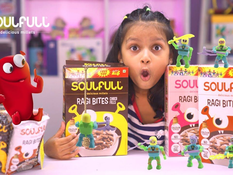 Unbox your dream toy while munching healthy Soulfull Ragi Bites : Kyrscope Toy Reviews