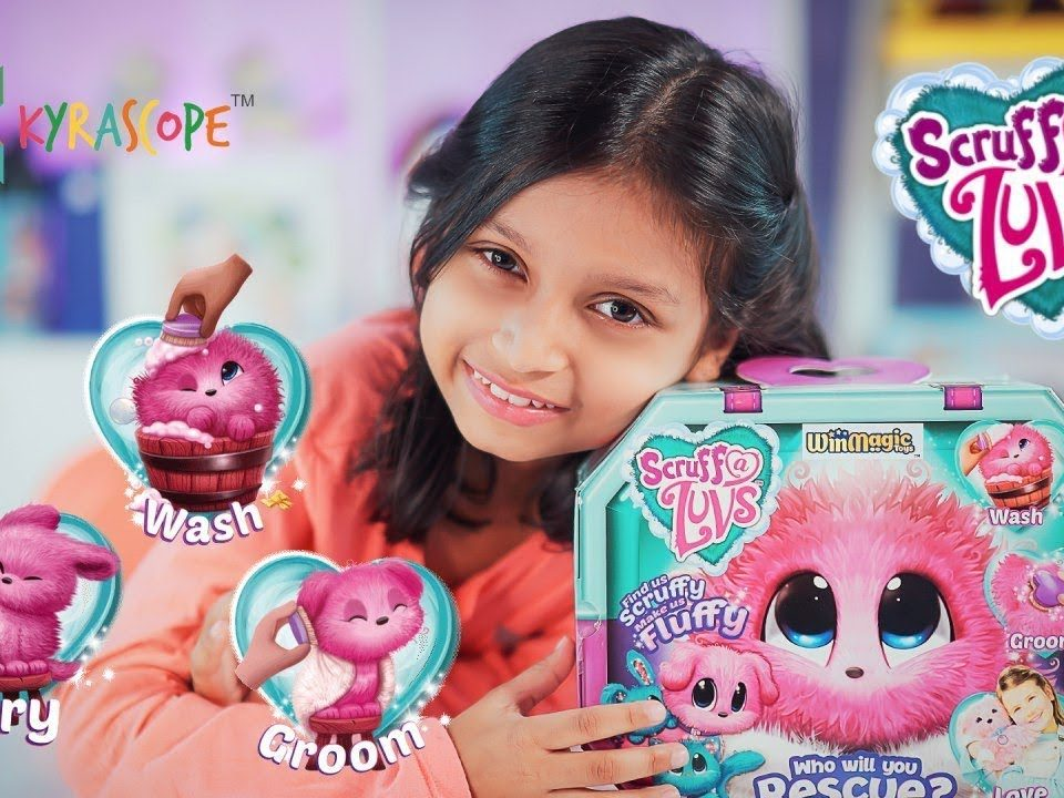 Unboxing Scruff-A-Luvs Wash And Reveal An Adorable Plush Toy Kyrascope Toy Reviews