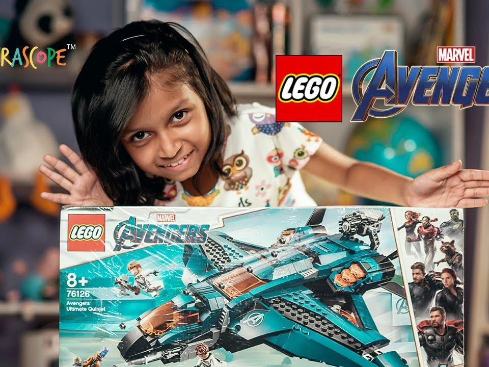 Lego Avengers Endgame Ultimate Quinjet Unboxing and Review Now Available in India : Kyrascope Toys