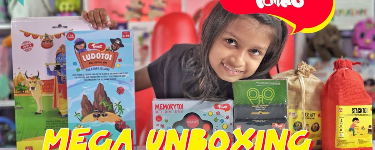 Toiing Toys Mega Unboxing And Review : Kyrascope Toy Reviews