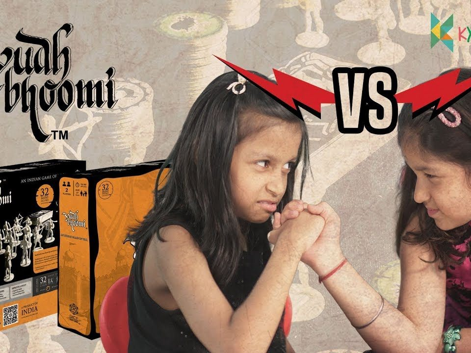 Yudh Bhoomi An Indian Game of War | Kyrascope Toy Reviews YudhBhoomi