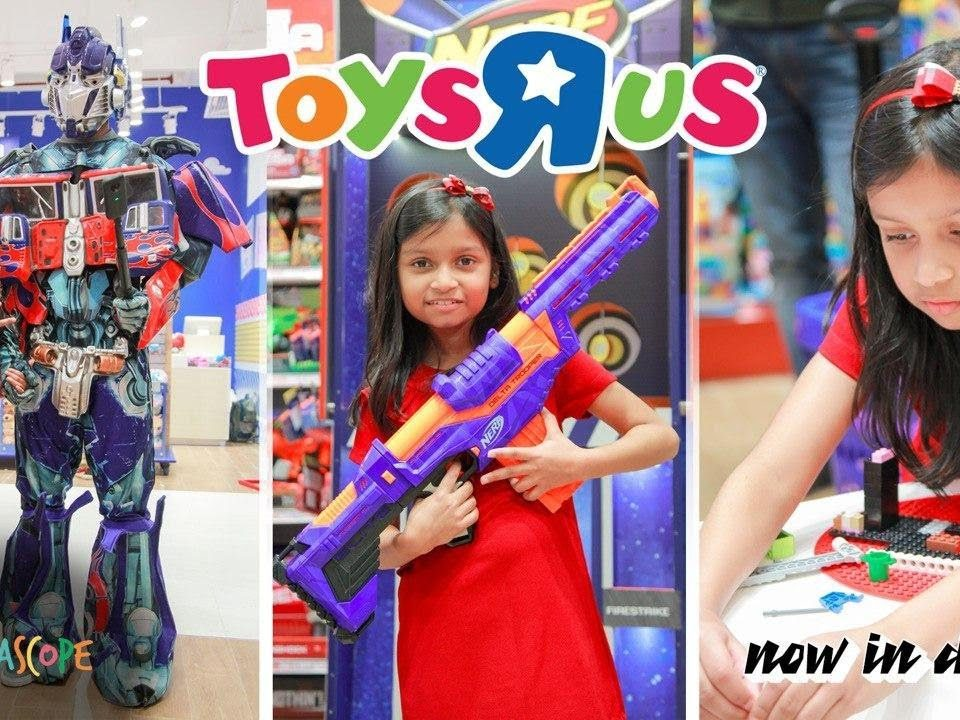 Toys R us Babies R us Opens its First Toy Store in Delhi : Kyrascope Toy Reviews